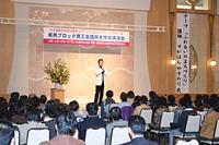 国際派歌手 すがはらやすのりさんの講演 (土浦京成ホテル)