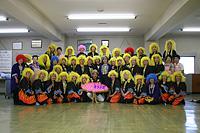 土浦キララまつり2007 七夕おどりコンテストに出場 新治商工会女性部との記念撮影