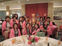 関商女性連水戸大会懇親会の一コマ