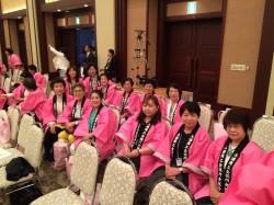 関商女性連水戸大会総会の一コマ